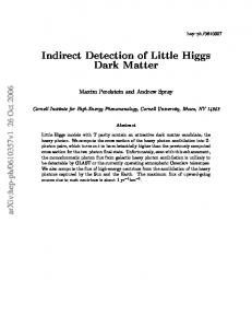 Indirect Detection of Little Higgs Dark Matter