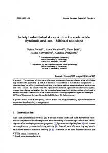Indolyl substituted 4 - oxobut - 2 - enoic acids ...