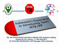Indonesia - Stop TB Partnership
