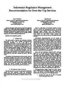 Indonesian Regulation Management Recommendation ... - IEEE Xplore