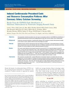 Induced Cardiovascular Procedural Costs and Resource ... - JACC
