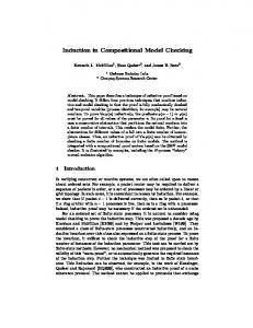 Induction in Compositional Model Checking - Semantic Scholar