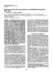 Induction of aP2 gene expression by nonmetabolized long-chain fatty ...