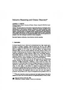Inductive Reasoning and Chance Discovery - Springer Link