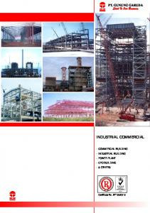 INDUSTRIAL COMMERCIAL - Gunung Steel Group