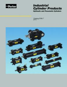 Industrial Cylinder Products, Hydraulic and Pneumatic Cylinders ...