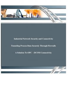 Industrial Network Security and Connectivity ... - Control Design