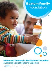 Infants and Toddlers in the District of Columbia - Child Trends