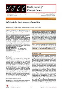 Infliximab for the treatment of pouchitis