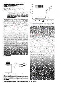 Influence of annealed ohmic contact metals on polarisation of AlGaN ...
