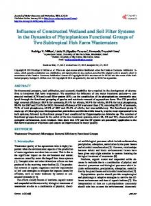 Influence of Constructed Wetland and Soil Filter Systems in the ...