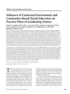 Influence of Contextual Environment and Community ... - CiteSeerX