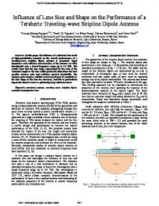 Influence of Lens Size and Shape on the Performance of ... - IEEE Xplore