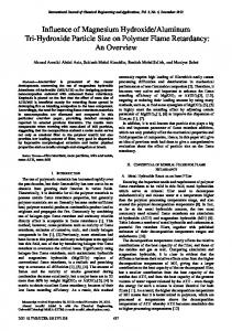 Influence of Magnesium Hydroxide/Aluminum Tri-Hydroxide Particle ...