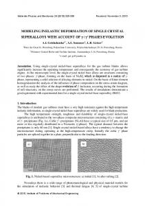 Influence of microstructural parameters of the composite on its stiffness ...