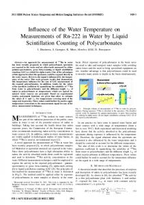 Influence of the Water Temperature on Direct