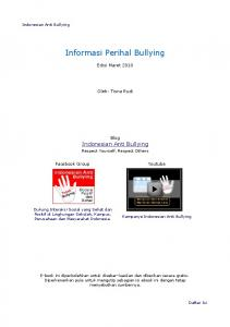 Informasi Perihal Bullying.pdf - Indonesian Anti bullying