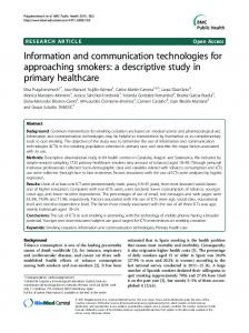 Information and communication technologies for ... - Semantic Scholar