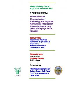 Information and Communication Technology and Improved ...