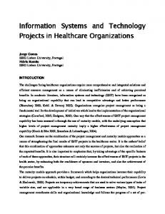 Information Systems and Technology Projects in ...