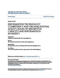 information technology competency and