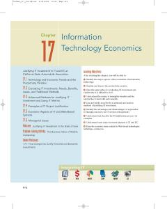 Information Technology Economics - Wiley