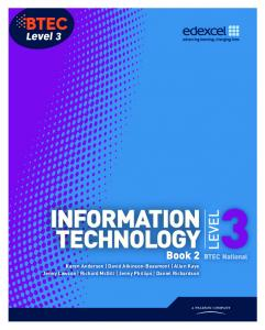 INFORMATION TECHNOLOGY LEVEL