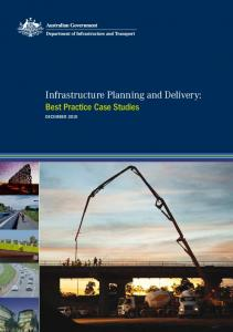 Infrastructure Planning and Delivery: Best Practice Case Studies ...