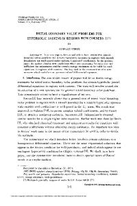 initial-boundary value problems for hyperbolic systems in regions with ...