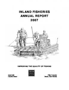 Inland Fisheries Annual Report 2007