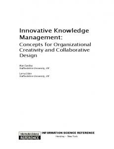 Innovative Knowledge Management