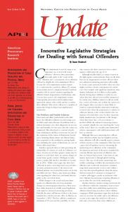 Innovative Legislative Strategies for Dealing with Sexual Offenders