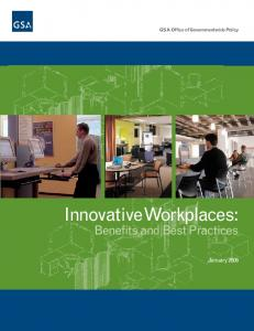 Innovative Workplaces: Benefits and Best Practices