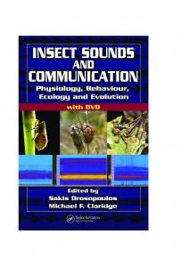 INSECT SOUNDS AND COMMUNICATION ...