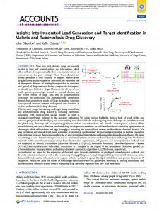Insights into Integrated Lead Generation and ... - ACS Publications