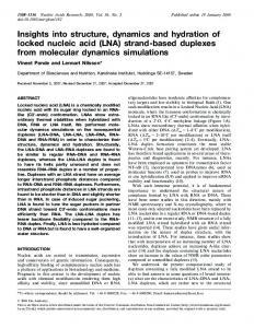 Insights into structure, dynamics and hydration of