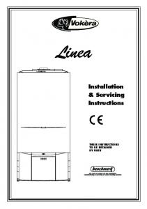 Installation & Servicing Instructions
