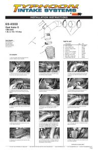 INSTALLATION INSTRUCTIONS Opel Astra G