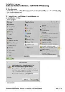 Installation manual Database Workbench 5 in Linux Mint 17 LTS ...