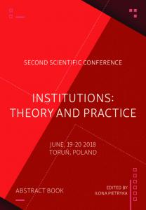 institutions: theory and practice