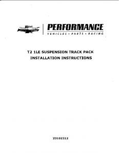 Instruction Manual - Pace Performance