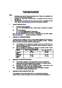Instructions - Directorate General of Civil Aviation