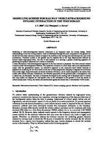 Instructions to Prepare the Extended Abstracts for the ... - ePrints Soton