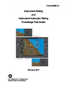Instrument Rating Knowledge Test Guide - February 2014