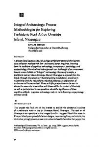 Integral Archaeology - Wiley Online Library