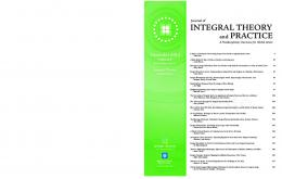 INTEGRAL THEORY and PRACTICE