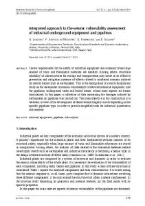 Integrated approach to the seismic vulnerability assessment of ...