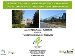 integrated approach to understand the functioning of