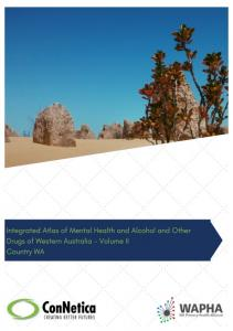 Integrated Atlas of Mental Health and Alcohol and Other Drugs