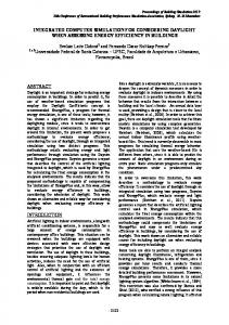 INTEGRATED COMPUTER SIMULATION FOR ... - IBPSA